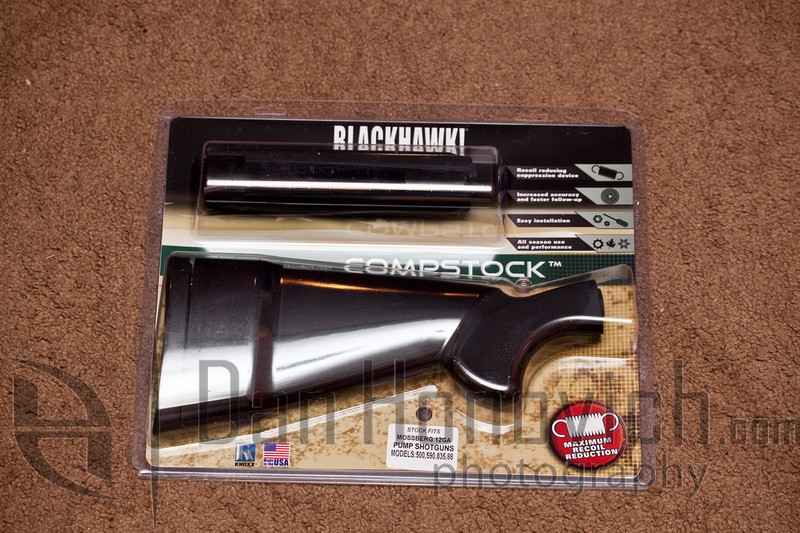 BlackHawk CompStock Shotgun Stock Mossberg