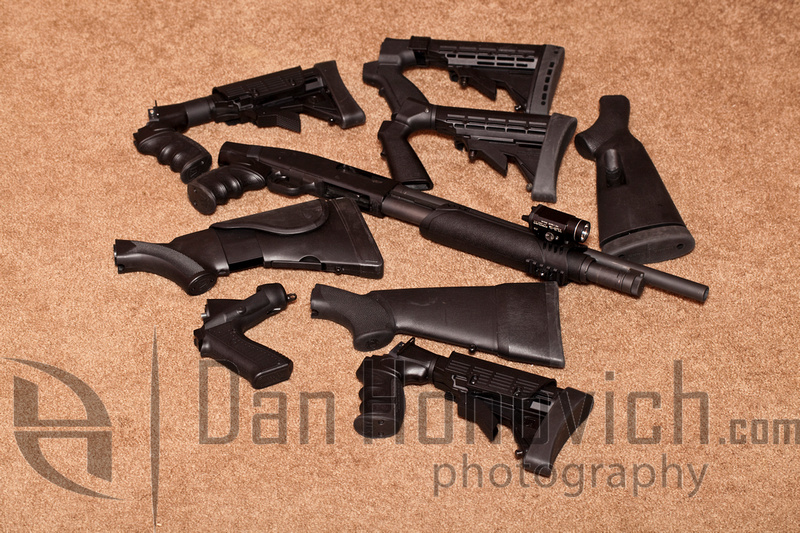 Single arm shotgun (SAS) kit Mossberg 500 & Remington 11-87