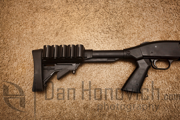 Mossberg 6 position adjustable stock